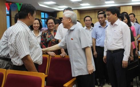 """Tong Bi thu: """"Chong tham nhung, ca cai lo phai nong len, tat ca phai vao cuoc"""""""