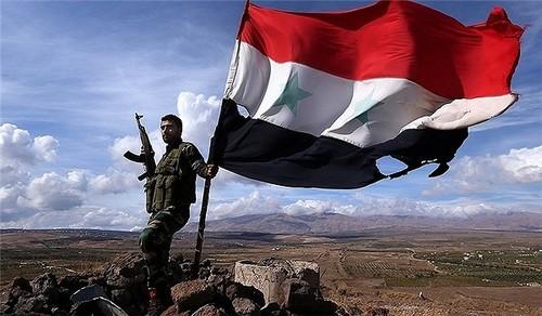 Thuc hu Quan doi Syria thao chay khoi thanh pho Albu Kamal