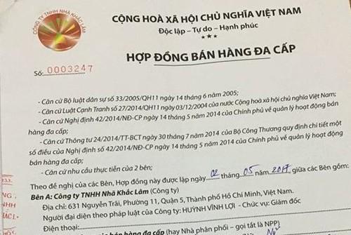 "Nha Khac Lam ""ke tuc"" Thien Ngoc Minh Uy tiep tuc lua dao?"