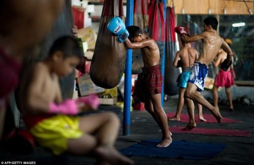 Bi an goc khuat dam mau phia sau mon vo Muay Thai-Hinh-2