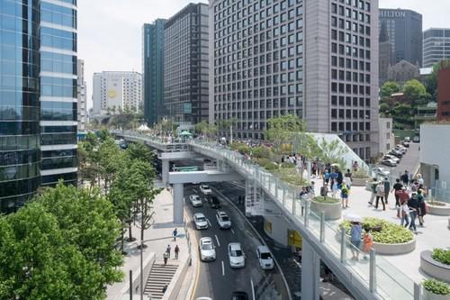 Ngo ngang vuon dep nhu co tich tren cau vuot o Seoul-Hinh-2