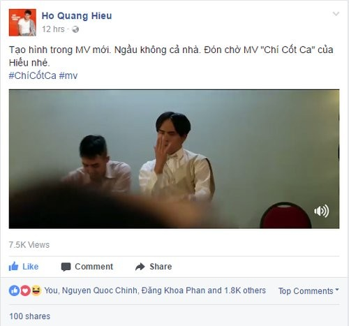 To mo kieu toc huyen thoai mot thoi cua Ho Quang Hieu