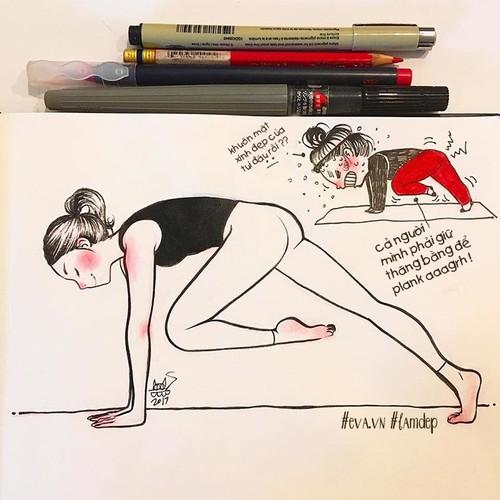 Phi cuoi hinh anh doi lap khi ban tap Yoga voi chuyen gia-Hinh-6