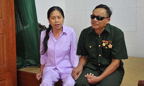 Xuc dong chuyen vo chong thuong binh mu