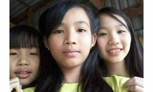 Ba be gai mat tich o Binh Duong