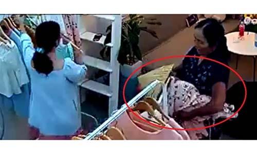 Ba gia chuyen mang bao tai di trom do shop quan ao bi moi len phuong