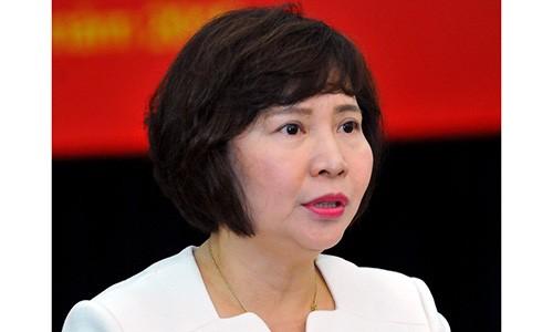 Ba Ho Thi Kim Thoa: Chang duong thang tien den ky luat mat chuc