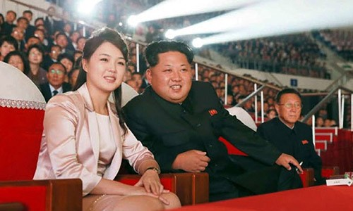 Phu nhan nha lanh dao Trieu Tien Kim Jong-un sinh con thu 3?