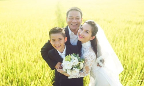 Kim Hien gac lai mong dien anh de bu dap ton thuong cho con trai