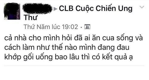 An cua song chua ung thu: Phan khoa hoc, ruoc them benh