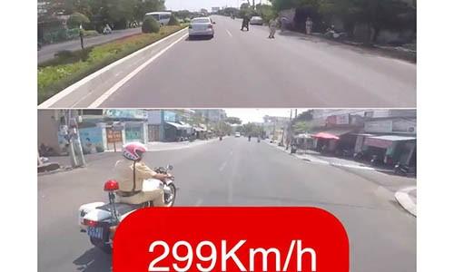 """Biker khai ly do tung clip phong xe """"299km/h"""", khieu khich CSGT"""