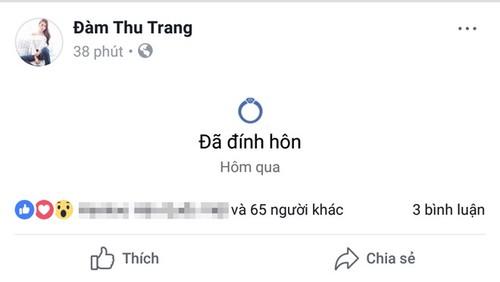 "Hanh dong ""la"" cua Dam Thu Trang truoc khi ""dinh hon"" Cuong Do la?-Hinh-2"