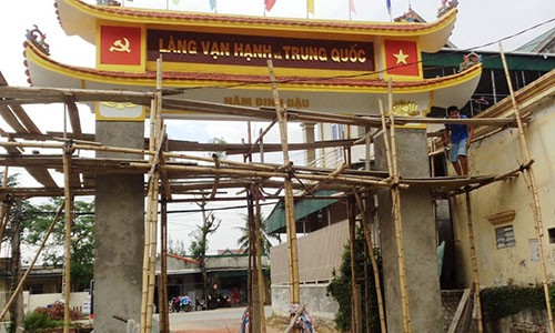 "Su that ve cong lang co ten ""Trung Quoc"" o Nghe An"