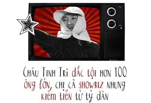 """Chau Tinh Tri: Ga """"di hom"""" duoc phong vua dien anh Hoa ngu"""