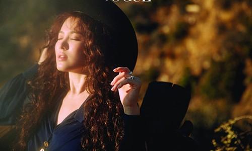 Song Hye Kyo dinh nghia ve hanh phuc va ke hoach cho tuan trang mat