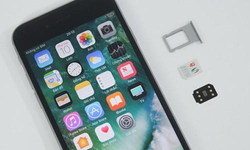 """Can trong voi SIM ghep v2 """"than thanh"""" sua loi 4G tren iPhone lock"""