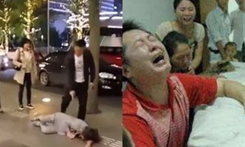 "Me goi dien: ""Vo may o nha co thai 3 thang voi thang nao day!"""