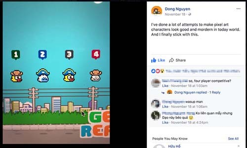 Nguyen Ha Dong sap dua Flappy Bird tai xuat?