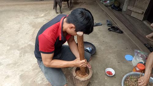 """Hiem la mon """"ca goi"""" - dac san """"cuc chat"""" cua nguoi Thai o Tay Bac-Hinh-3"""