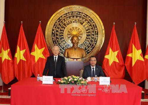 Tong Bi thu: VN va Trung Quoc da trao doi coi mo nhieu van de-Hinh-2