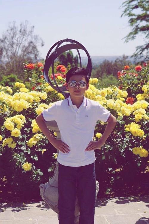 Quang Dung he lo diem giong nhau ki la voi con trai-Hinh-2
