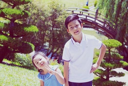 Quang Dung he lo diem giong nhau ki la voi con trai-Hinh-5