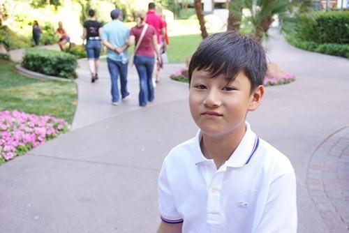 Quang Dung he lo diem giong nhau ki la voi con trai-Hinh-7