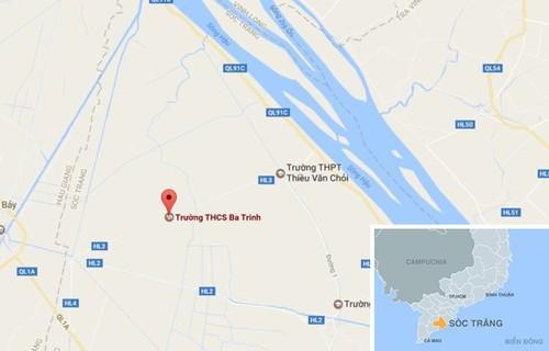 Cuu Bi thu Hau Giang noi ve xe bien xanh du tiec o Huynh phu duong-Hinh-3