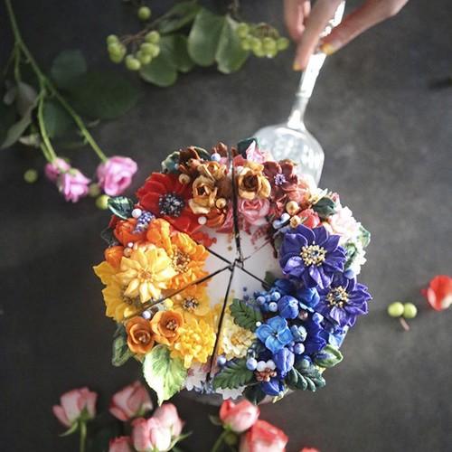 Nhung chiec banh hoa kem bo dep nhuong nay ban co no an khong?-Hinh-12
