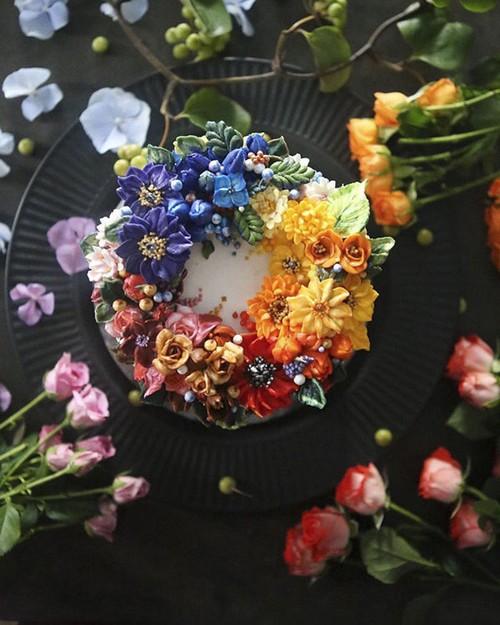 Nhung chiec banh hoa kem bo dep nhuong nay ban co no an khong?-Hinh-6