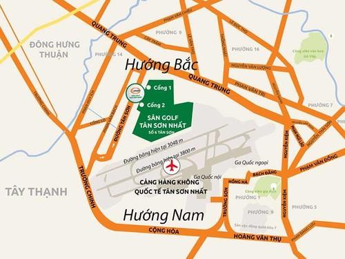 """""""Nen mo rong Tan Son Nhat ve huong Nam"""""""