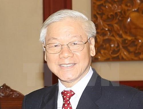 Tong Bi thu Nguyen Phu Trong se tham chinh thuc nuoc CHND Trung Hoa