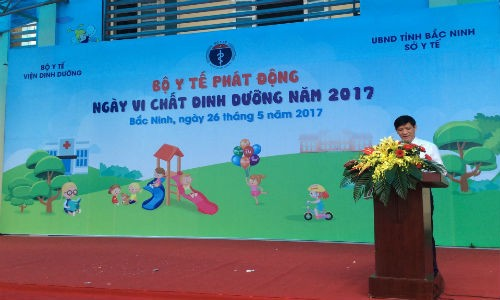 Le phat dong ngay Vi chat dinh duong toan quoc nam 2017