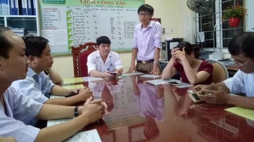 Ha Tinh: san phu tu vong dot ngot sau khi mo bat thai-Hinh-2