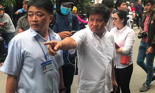 """Xiet"" quy trinh lap lai trat tu via he cua ong Doan Ngoc Hai"