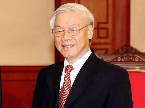 Tom tat tieu su Tong Bi thu BCH Trung uong Dang khoa XII - Nguyen Phu Trong
