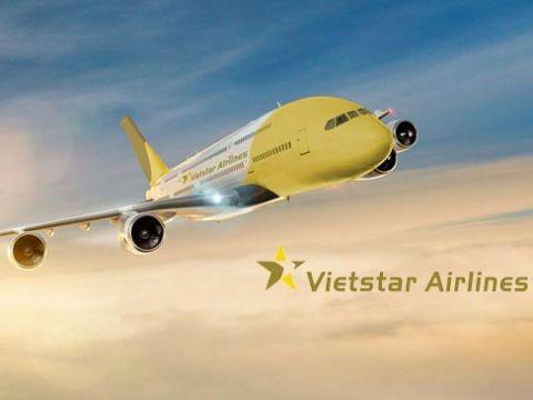 Ho so hang hang khong 3 nam chua duoc cap phep Vietstar Airlines