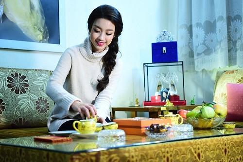 HH My Linh, Thu Thao cat-se cao ngat van o nha don so-Hinh-2