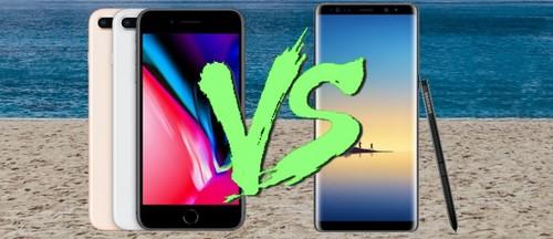 iPhone 8 Plus dua toc do Galaxy Note 8: gay can den phut chot