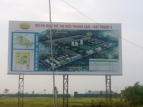 "Me Linh - Ha Noi: Hang loat du an ""khung"" cua HUD cham tien do"