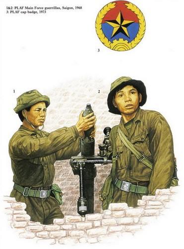 Các chiến sĩ du kích của Mặt trận Dân tộc Giải phóng miền Nam trong kháng chiến chống Mỹ.