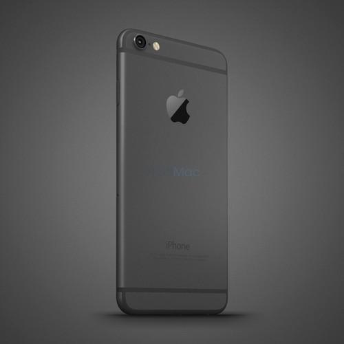 Anh dung dien thoai iPhone 6C nhieu mau sac, dang giong 6S-Hinh-10