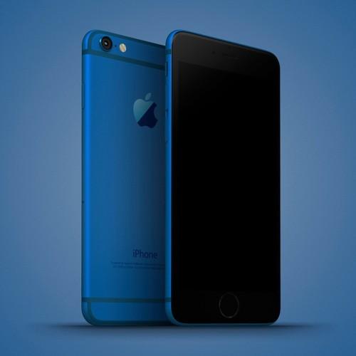 Anh dung dien thoai iPhone 6C nhieu mau sac, dang giong 6S-Hinh-2
