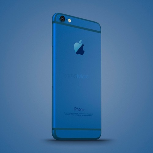 Anh dung dien thoai iPhone 6C nhieu mau sac, dang giong 6S-Hinh-3