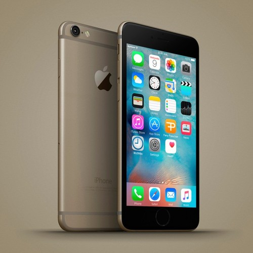 Anh dung dien thoai iPhone 6C nhieu mau sac, dang giong 6S-Hinh-4