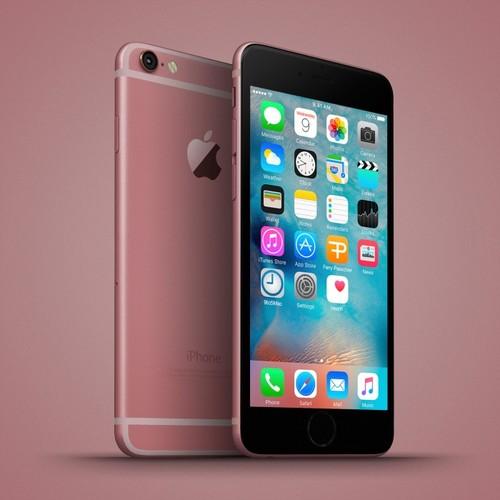 Anh dung dien thoai iPhone 6C nhieu mau sac, dang giong 6S-Hinh-6