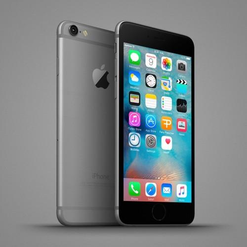 Anh dung dien thoai iPhone 6C nhieu mau sac, dang giong 6S-Hinh-9