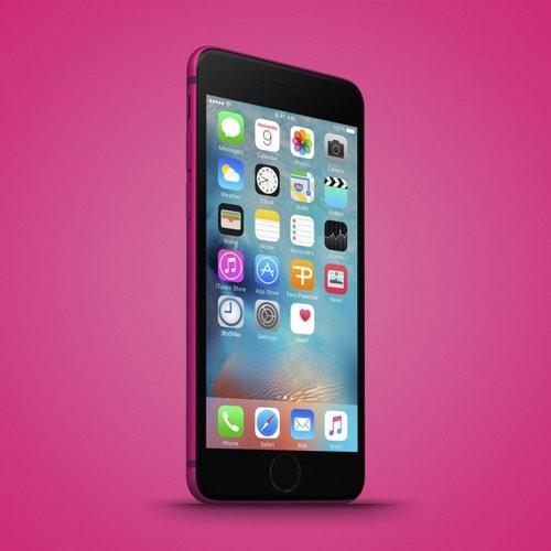 Dien thoai iPhone 6c vo kim loai, Touch ID lo anh thuc-Hinh-4