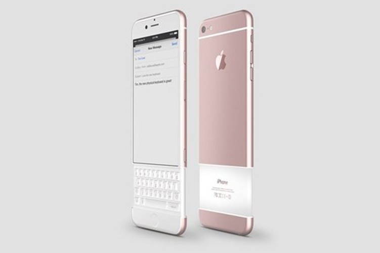 Ngam concept iPhone 7 ban phim QWERTY dang truot kich doc-Hinh-3