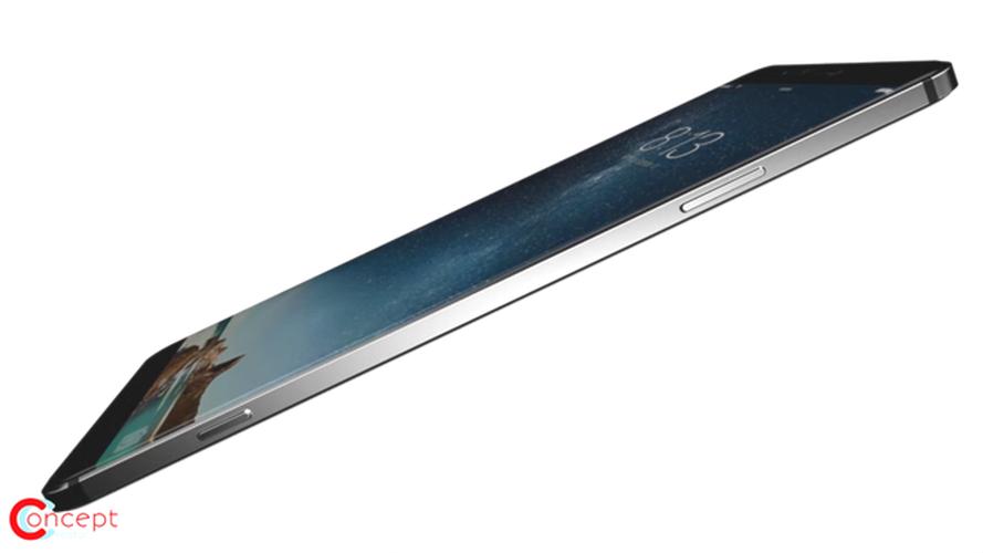 Y tuong iPhone 8 thiet ke khong vien, than boc kim loai-Hinh-2
